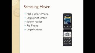 Accessible Cell Phones 0204 Samsung Haven