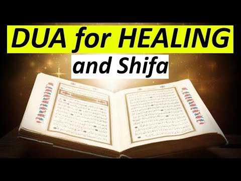 Dua for Healing and Shifa from Hadith