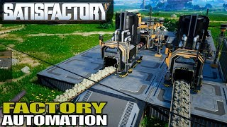 STARTING THE FACTORY AUTOMATION   Satisfactory Gameplay   S01E02