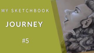 My Sketchbook Journey - ep5 // pilot G-tech-C4  and soft pastel pencil