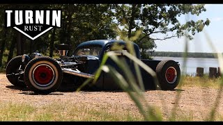 Chopped 1951 Ford F1 on Air Ride | A Turnin Rust Extra | Jason Hick's F1
