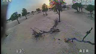 Armattan Marmotte Desert Freestyle FPV DVR - First 5'' Experience