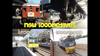 NSW Locomotives - Atomic Kitten - Locomotion (With Lyrics)