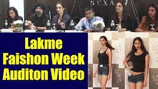 Malaika Arora Khan judging Models at Lakme Fashion Week 2019 Edition Auditions; Watch | FilmiBeat