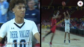 Jaret Allen SAVES Season for #1 RANKED Deer Valley w/ HUGE Overtime 3 POINTER!!!