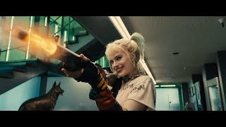 Birds of Prey - Harley Quinn vs Cops & Prisoners - Police Station Fight Scene 1080p