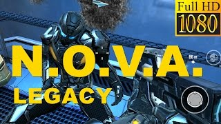 N.O.V.A. Legacy Game Review 1080P Official Gameloft Action