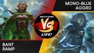 VS Live! | Bant Ramp VS Mono-Blue Aggro | Standard | Match 3