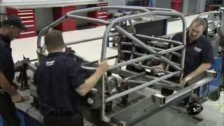 Assembling a Race Car Frame | How It's Made