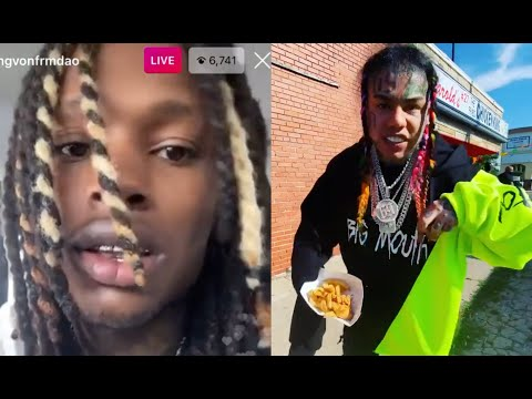 "King Von Reacts To 6ix9ine Coming To O Block ""It Hurt My Heart"""