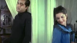 Joy Mukherjee & Zeb Rahaman  Hindi Movie Scenes <b>Aag Aur Daag</b>  Magar Tum Yahan Andar