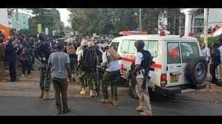 Firefight as multi-agency team battle Riverside Attackers