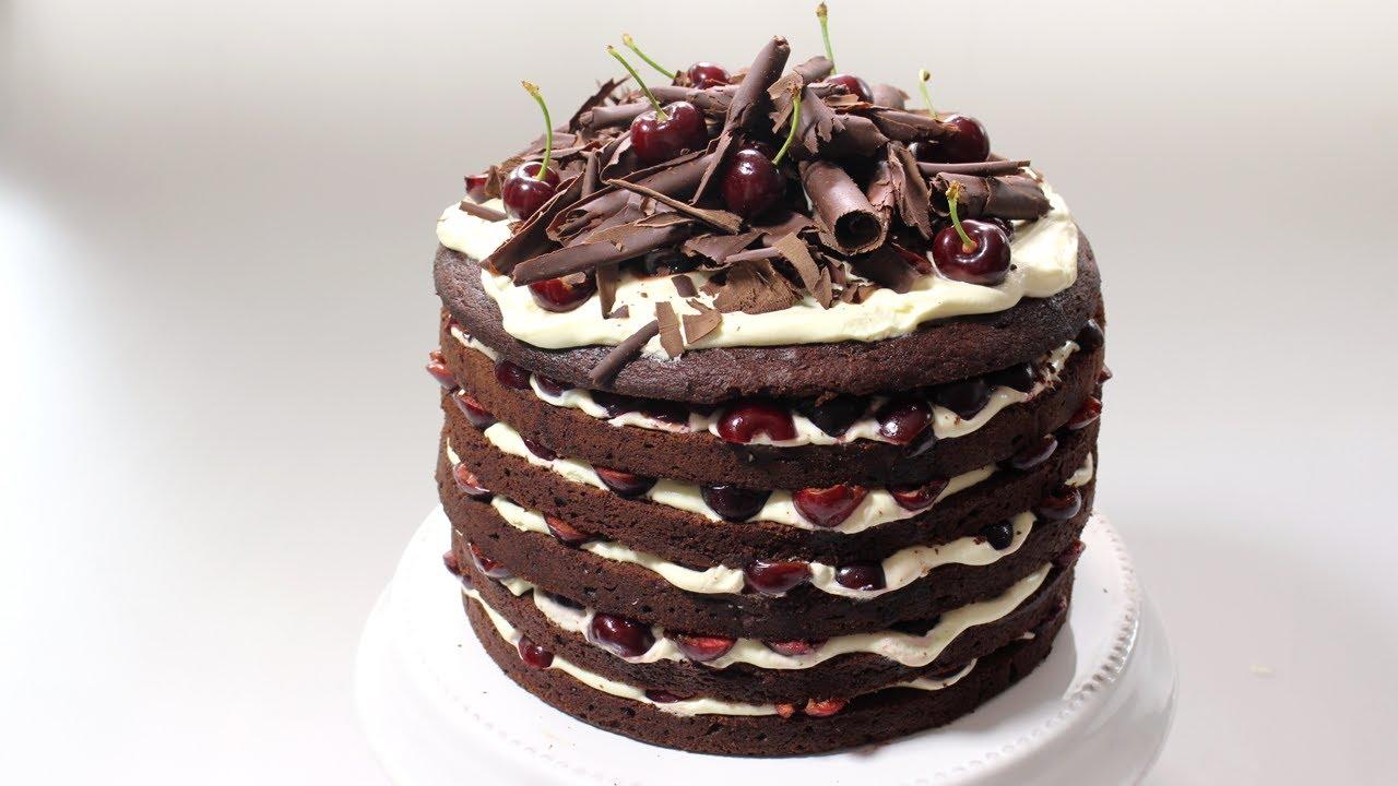 Cherry Cake Recipe Nigella