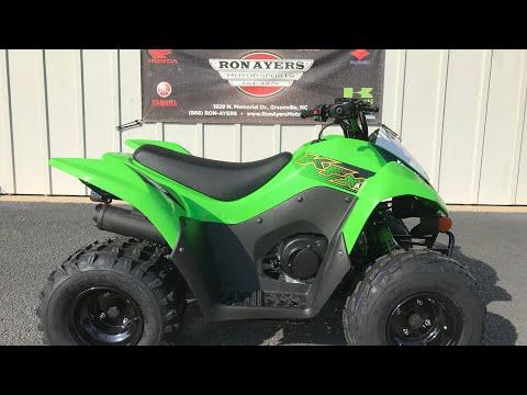 2020 Kawasaki KFX 90 in Greenville, North Carolina - Video 1