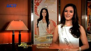 Megalina Wong for Miss Indonesia 2015