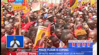 Maize flour is coming: Uhuru Kenyatta promises enough maize on the way