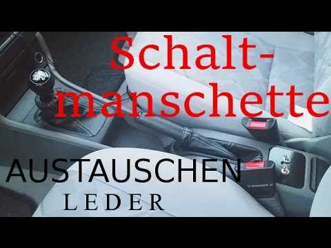 Schaltsack / Schaltmanschette wechseln | Handbremshebel beziehen |Opel Astra G| remove a shift boot
