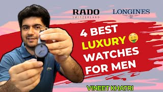 4 Best Luxury Watches For Men - My Personal Collection | Vineet Khatri Vlogs