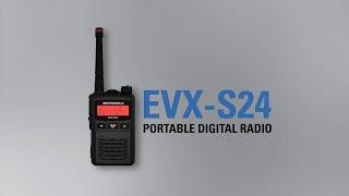 Motorola (Vertex) EVX-S24 digitális kézi URH rádió