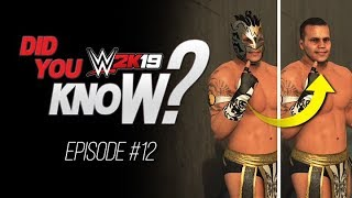 WWE 2K19 Did You Know? How to Unmask ALL Superstars, Crazy Promo Animations & More! (Episode 12)