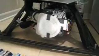 Washer Won't Drain - Pump Clogged with Sock - Repair; Whirlpool WTW57ESVW