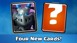 Clash Royale   MEGA MINION! 4 New Cards (New Update)
