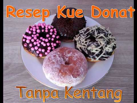 Resep Donat Tanpa Kentang/anti Gagal