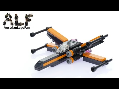Vidéo LEGO Star Wars 30278 : Poe's X-wing Fighter (Polybag)