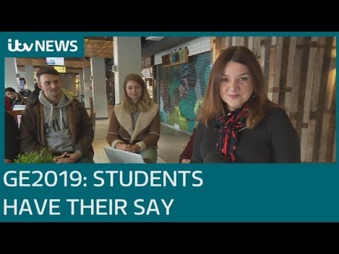 Students reveal who they will vote for in the general election | ITV News