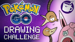 Wigglytuff  - (Pokémon) - Pokémon Go Random Drawing Challenge