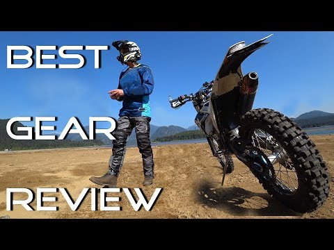 2018 Best Gear Adv/Dual Sport Motorcycle Review Olympia X Moto 2 | #55 Wadz up
