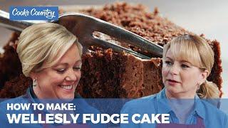 How to Make Rich, Chocolatey Wellesley Fudge Cake