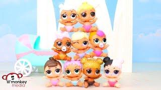 😂 LOL Surprise Dolls - Baby Talent Show!!