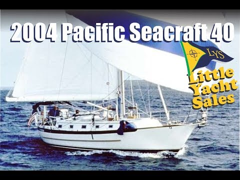 2004 Pacific Seacraft 40 Sailboat for sale at Little Yacht Sales, Kemah Texas