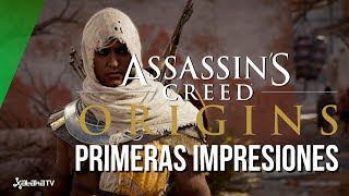 Assassin's Creed Origins, primeras impresiones GamesCom 2017