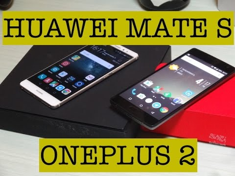 Foto Confronto Video: Huawei Mate S vs OnePlus 2