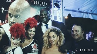 Shaquille ONeal Hosts E11EVEN MIAMI