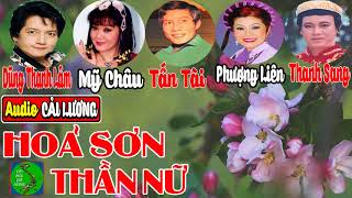 Hỏa Sơn Thần Nữ - Tấn Tài, Mỹ Châu, Dũng Thanh Lâm, Phượng Liên