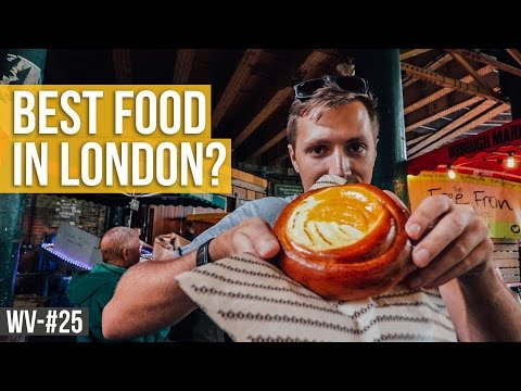 Video BEST PLACE TO EAT IN LONDON? | Weekly Vlog #25
