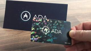 Metaps Plus ADA Crypto Card | adatainment