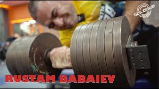 Рустам Бабаев Тренировка 20 ти кратного чемпиона мира по армрестлингу