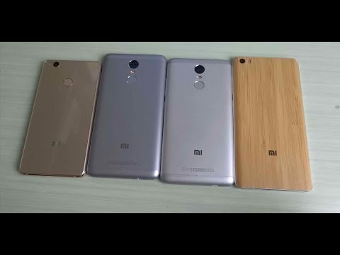 Xiaomi Mi 4S vs Redmi Note 3 vs Redmi Note 3 Pro vs Mi Note ITA