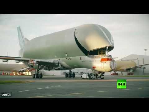 العرب اليوم - شاهد: مراحل تجميع الطائرة الحوت من شركة إيرباص