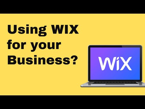 Is Wix The Right Choice for a Business?  The Pros and Cons of using Wix 2018