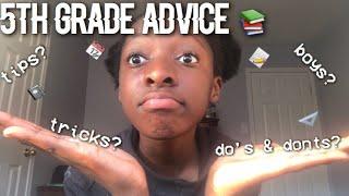 5th grade advice 📚! || tips , boys & more || read description for more ❤️!