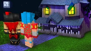 ¡NO ENTRES EN LA CASA MONSTRUO EN MINECRAFT! 😱 MONSTER HOUSE