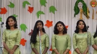 Fusion Song | Malayalam | Pavizha Mazha |  Nisarg 17.1 | Class 10th Performance Day 2019