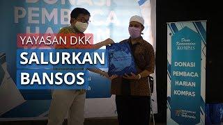Kompas Salurkan Bansos kepada Masyarakat Terdampak Pandemi Covid-19