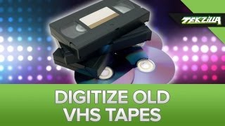 Digitize Your Old VHS Tapes