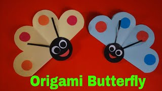 Crafts For Kids With Paper Origami Butterfly  || Paper Craft , Preschool Crafts